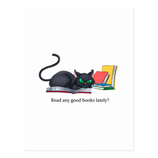 ¿Lea cualquier buen libro últimamente? Postal
