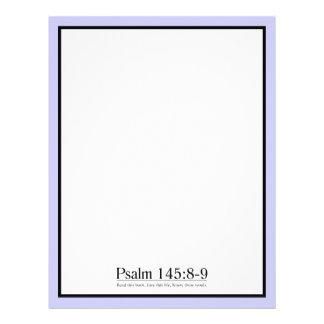 Lea el 145 8 del salmo de la biblia - 9 membrete