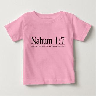 Lea el 1:7 de Nahum de la biblia Playera De Bebé