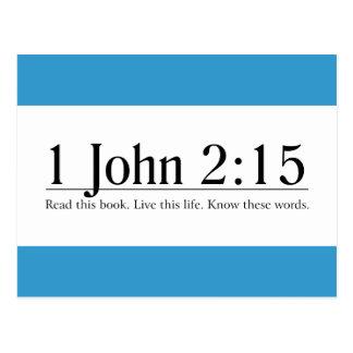 Lea el 2 15 de Juan de la biblia 1 Postales