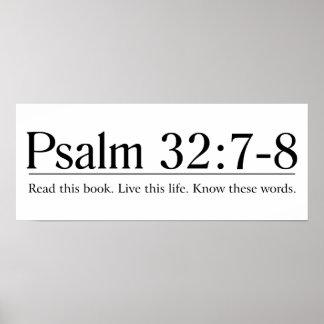 Lea el 32 7 del salmo de la biblia - 8 impresiones