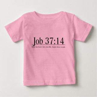 Lea el 37:14 del trabajo de la biblia playera de bebé