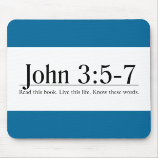 Lea el 3 5 de Juan de la biblia - 7 Tapete De Ratón