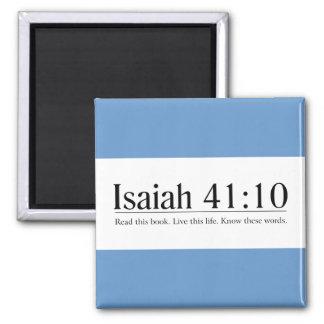 Lea el 41 10 de Isaías de la biblia Imán Para Frigorifico