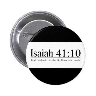 Lea el 41:10 de Isaías de la biblia Pin