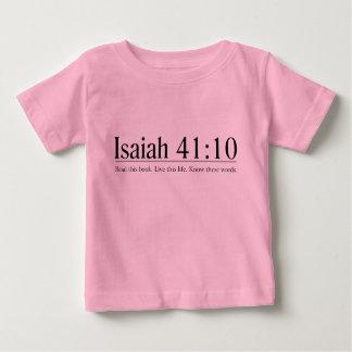 Lea el 41:10 de Isaías de la biblia Playera De Bebé