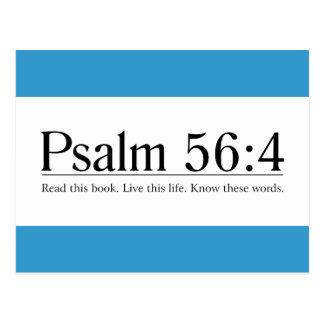 Lea el 56 4 del salmo de la biblia postales