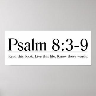 Lea el 8 3 del salmo de la biblia - 9 impresiones