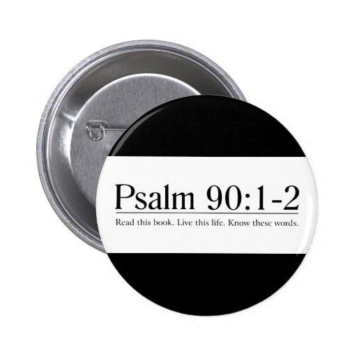 Lea el 90:1 del salmo de la biblia - 2 pins