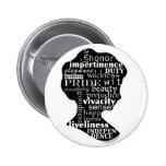 Lea el botón de Jane Austen Pins