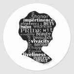 Lea el camafeo de Jane Austen Etiqueta Redonda