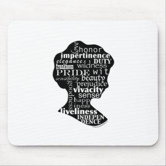 Lea el camafeo de Jane Austen Tapetes De Ratón