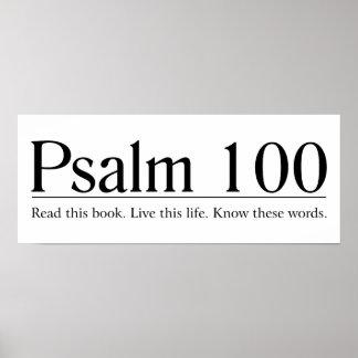 Lea el salmo 100 de la biblia impresiones
