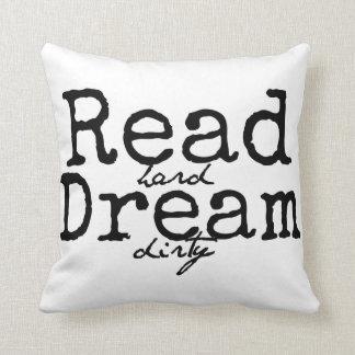 Lea la almohada sucia ideal dura