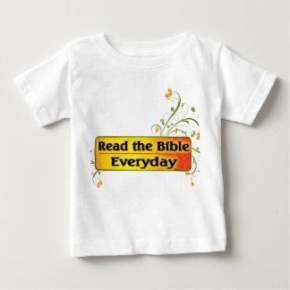 LEA LA BIBLIA DIARIA PLAYERA DE BEBÉ