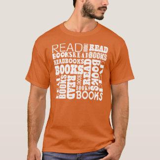 Lea la camiseta para hombre del círculo de