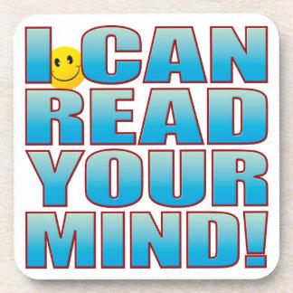 Lea la vida B de la mente Posavasos De Bebida