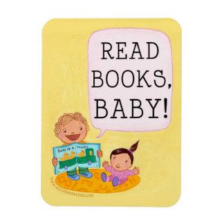 ¡Lea los libros bebé imán