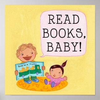 ¡Lea los libros, bebé! poster