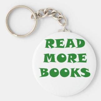 Lea más libros llavero personalizado