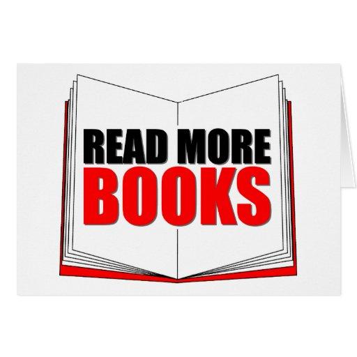Lea más libros tarjetas