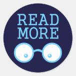 Lea más pegatina
