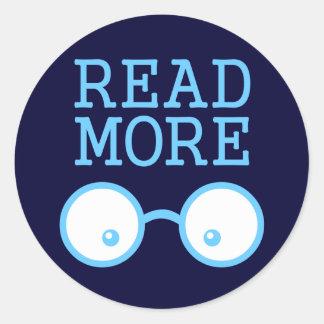 Lea más pegatina redonda