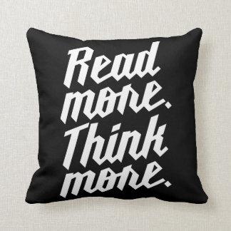 Lea más piensan más almohada