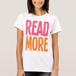 Lea más playera