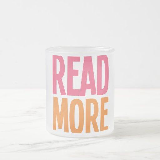 Lea más taza