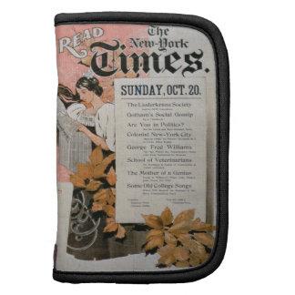 """""""Lea New York Times"""" (el litho del color) Planificadores"""