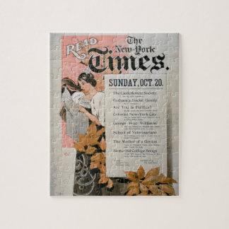 """""""Lea New York Times"""" (el litho del color) Puzzles"""