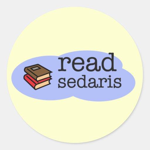 Lea Sedaris Pegatina Redonda