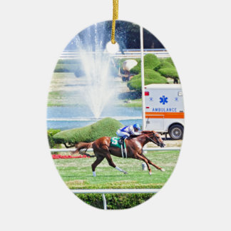 Lea - Stakes Winning Chestnut Colt Ceramic Ornament