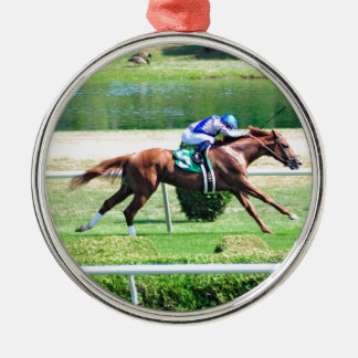 Lea - Stakes Winning Chestnut Colt Metal Ornament