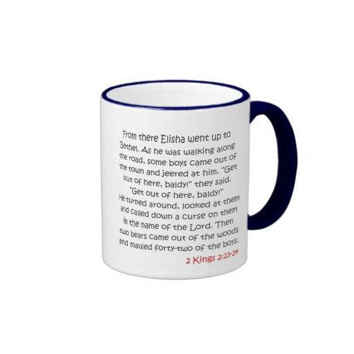 Lea su biblia, niño - la historia de Elisha Taza