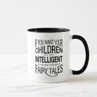 Lea sus cuentos de hadas de los niños taza