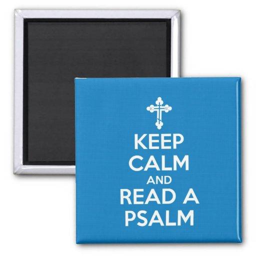 Lea un imán del salmo