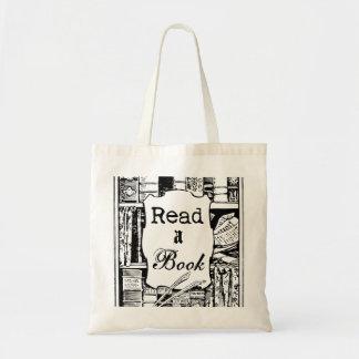 Lea un libro bolsa tela barata
