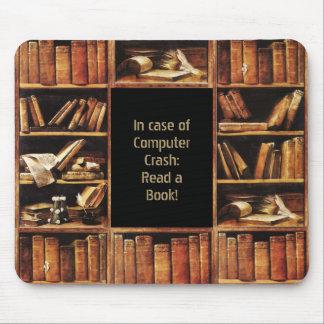 Lea un libro mouse pads