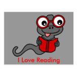 Lea un mes del libro: Amo el leer Tarjetas Postales