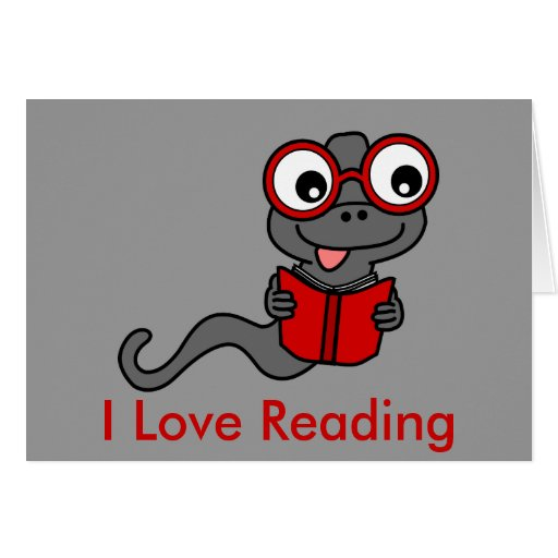 Lea un mes del libro: Amo el leer Tarjeton