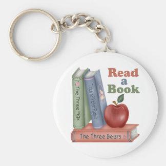 Lea un regalo del profesor del libro llavero