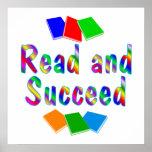 Lea y tenga éxito impresiones