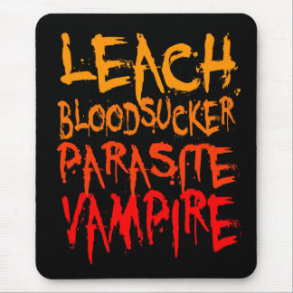 Leach, Bloodsucker, Parasite, Vampire Mouse Pad