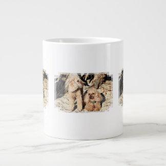 Leach - Poodles - Romeo Remy Giant Coffee Mug