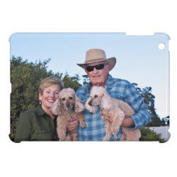 Case Savvy iPad Mini Glossy Finish Case with Poodle Phone Cases design