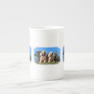 Leach - Poodles - Romeo Remy Tea Cup