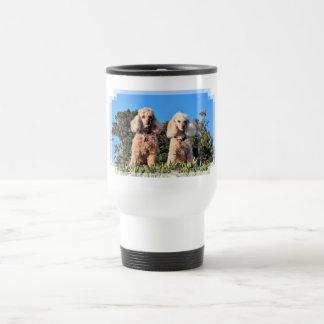 Leach - Poodles - Romeo Remy Travel Mug