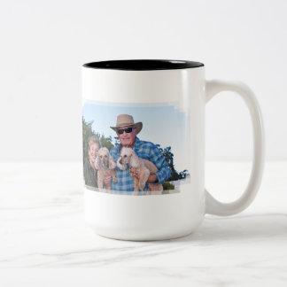 Leach - Poodles - Romeo Remy Two-Tone Coffee Mug